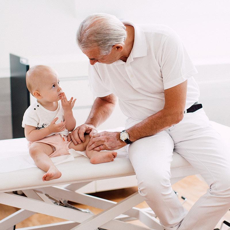 Kindliche Hüfte und die Hüftultraschalldiagnostik